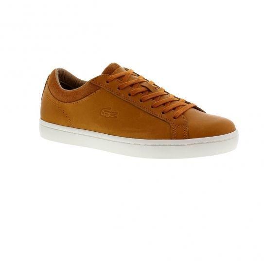 0e52048461 Lacoste - Chaussures Straightset Crf Srm Tan - pas cher Achat / Vente  Baskets homme - RueDuCommerce