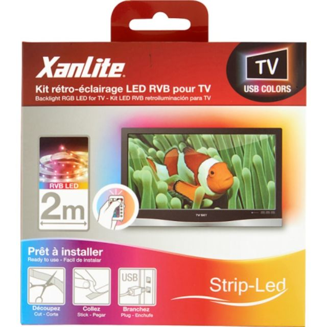 Xanlite Ruban Led 2m Multicolor Tv 36