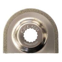 Cel - Ac02 Lame De Scie Semi-circulaire RevÊTEMENT Diamant 65 Mm
