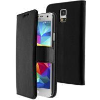 Etui folio noir -Samsung Galaxy S6 Edge Plus G928 BMAFau0T