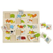 Beleduc - Puzzle Animals Match & Mix 11006