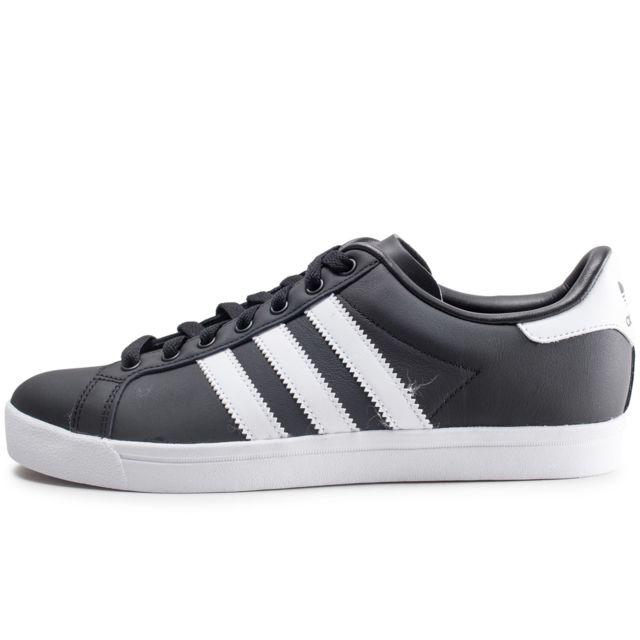 adidas noir et blanc pas cher