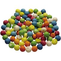 Pw International - boule cellulose diam 18mm assorti - sachet de 100