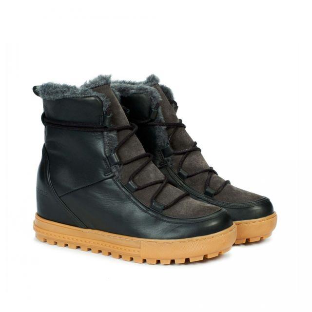 Aigle Boots Après ski Laponwarm Black Noir pas cher