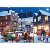 Gibson - Puzzle 2 x 500 pièces : En attendant Noël