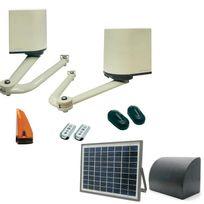 Avidsen - Kit motorisation portail a battant Orane avec alimentation solaire