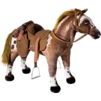 Heunec - Peluche Cheval sonore Charge Maximum 100 kg