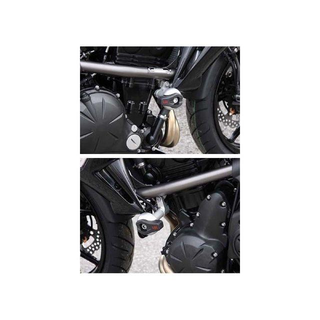 wacox kit fixation crash pad kawasaki er6 n f 2009 pas cher achat vente protections moto. Black Bedroom Furniture Sets. Home Design Ideas