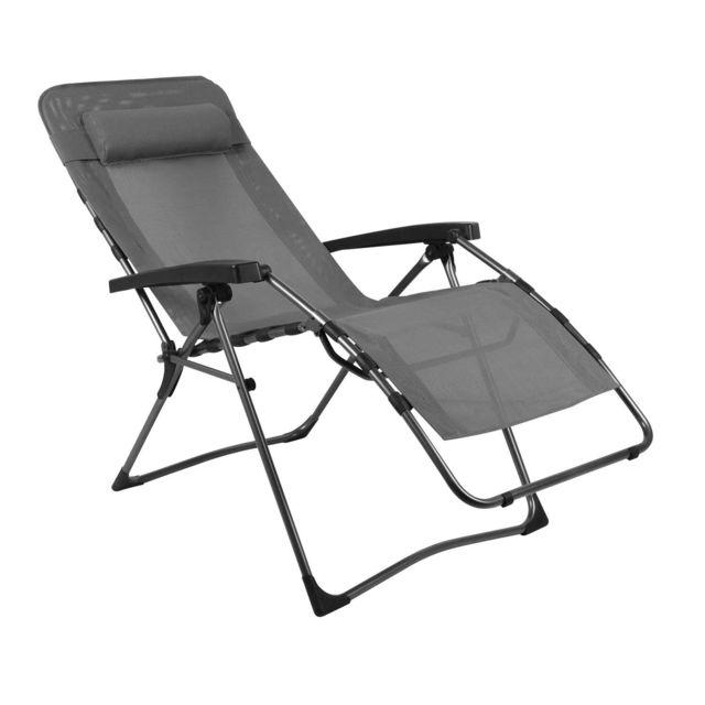 Westfield Cloud Chaise Longue de Jardin avec Repose Pieds