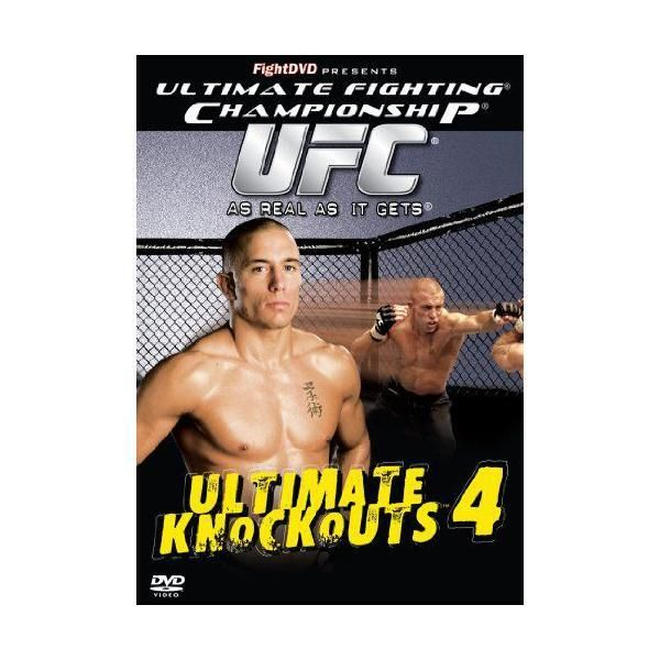 Fight Dvd - Ultimate Fighting Championship - Ultimate Knockouts 4 Import anglais