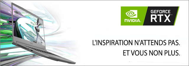 Carte graphique NVIDIA GeForce RTX