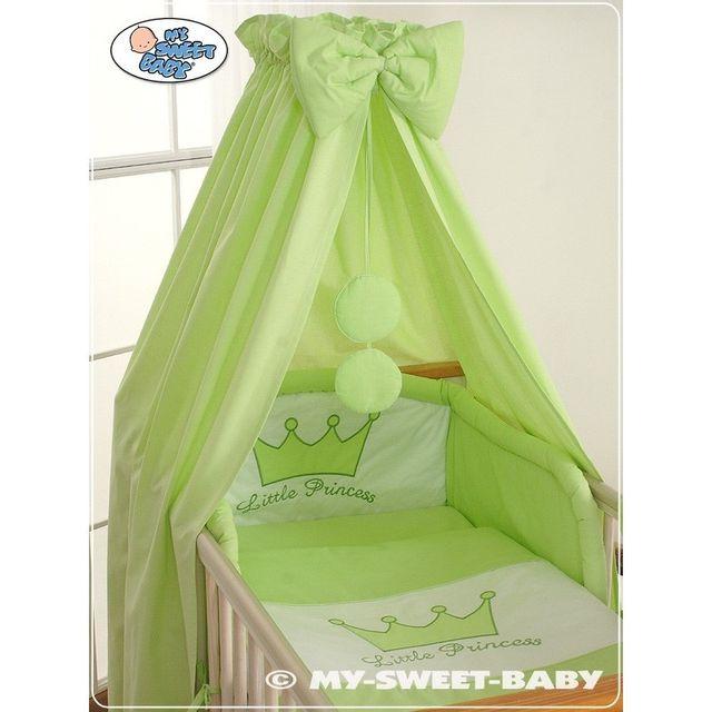 Autre Lit et Parure de lit bébé prince ou princesse vert ciel de lit coton 120 60