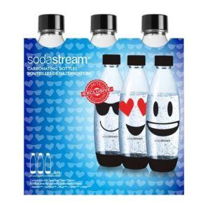 Sodastream - Pack de 3 Bouteilles Pet Fuse 1L Emoji Réf. 30000142