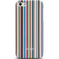 be.ez - Be-ez Coque La Cover Allure Color rayures colorés pour iPhone 5s