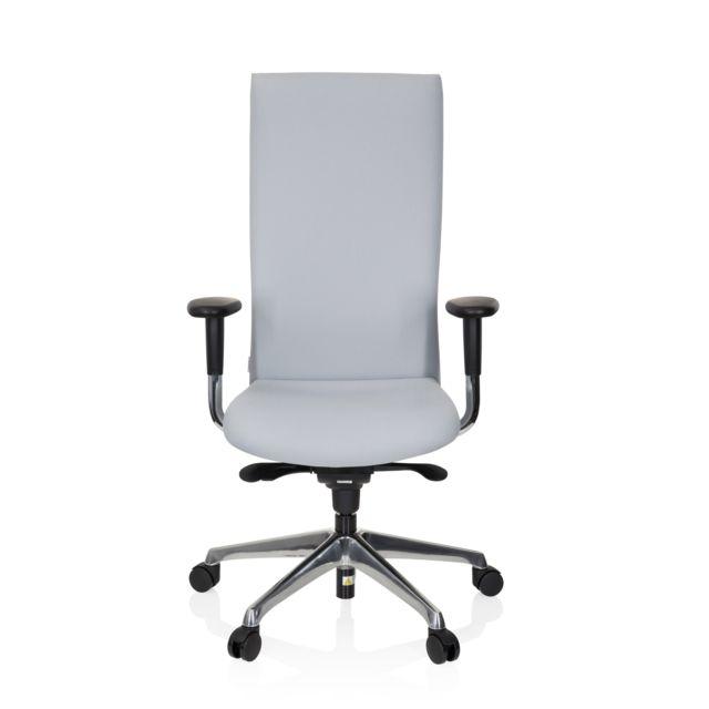 Hjh Office Siège de bureau / Fauteuil de direction Office-tec tissu anthracite