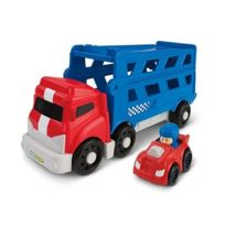 Fisher Price - Camion transporteur Wheelies Little People - Fisher-Price
