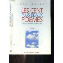 Le Cherche Midi Editeur Les Cent Plus Beaux Sonnets De La