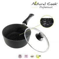Natural Cook Professionnel - Casserole en pierre granité et céramique 20cm - tous feux