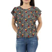 Molly Bracken - Tee shirt s3373e18 gris