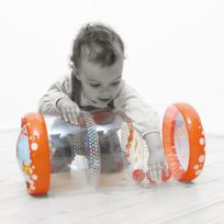 Ludi - Rouleau gonflable : Baby Roller Corail