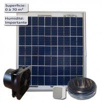 Sellande - Kit De Ventilation Solaire 7W-12V Vmc-extracteur 160M3/H