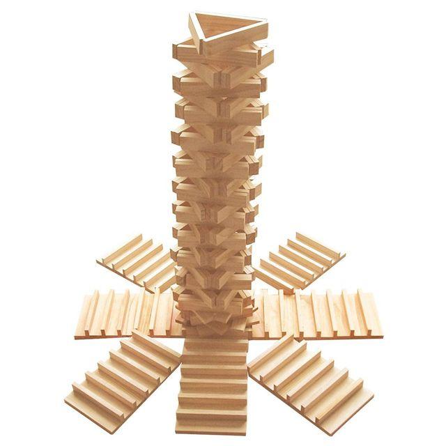 Okoia Jeu de construction en bois : Empiplak 250 pièces