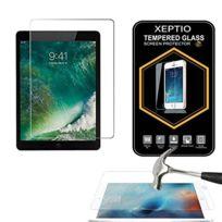 Xeptio - Apple iPad Pro 10.5 pouces Wifi - 4G/LTE : Protection d'écran en verre trempé - Tempered glass Screen protector 9H premium / Films vitre Protecteur d'écran tablette New Apple iPad Pro 10.5 pouces 2017 / 2018 - Version intégrale avec accessoires
