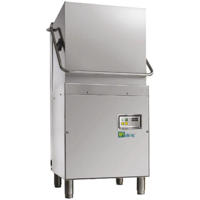 Materiel Chr Pro Lave Vaisselle à Capot Panier Carré 50X50 Monophasé avec Adoucisseur - Afi Collin Lucy