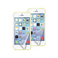 Muvit - lot de 2 films anti traces doigt 1 glossy 1 mat pour iPhone 5C