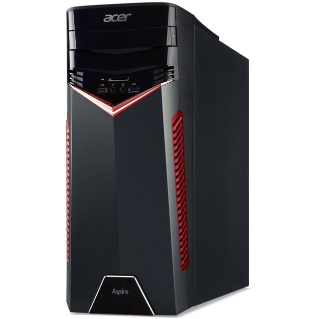 ACER - PC de Bureau - Intel Core i5-7400 3 GHz - RAM 8 Go - HDD 1 To - NVIDIA GeForce GTX1060 - Windows 10 Home