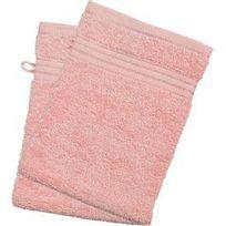 Lot de 2 gants de toilette 450g/m2 710235