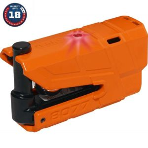 abus bloque disque moto alarm sra granit detecto x plus 8077 orange pas cher achat vente. Black Bedroom Furniture Sets. Home Design Ideas