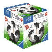 RAVENSBURGER - Puzzleball 54 Pieces : Ballon Foot Adidas De La Coupe du Monde 2018 En Russie - Puzzle 3D FootBall - Fifa World Cup