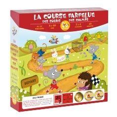 Zoe Yateka Jeux de société - La Course Farfelue des Souris des Champs