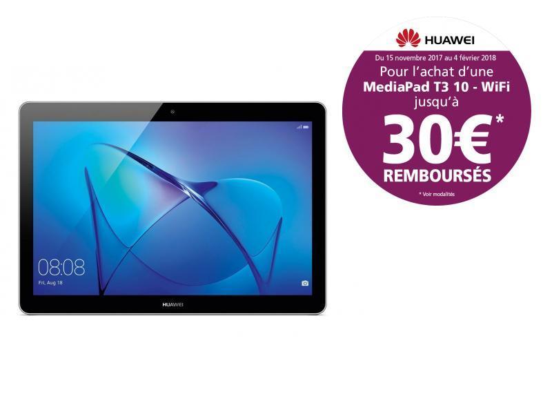MediaPad T3 10 - 9.6'' HD IPS - 16 Go - Gris