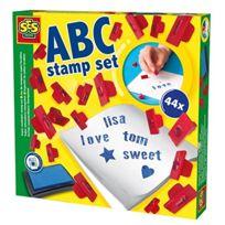 Ses France - 00912 - Set De Tampons À Imprimer - Alphabet