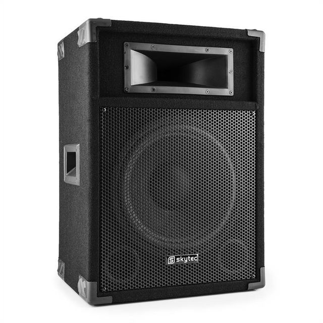POWER DYNAMICS SkyTec CSB15 Enceinte sono PA active 2 voies subwoofer 38cm 15