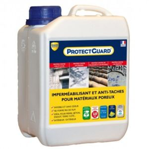 Guard Industrie - Anti taches sols et murs poreux - ProtectGuard - 2L
