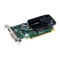 Fujitsu Tech. Solut. - Nvidia Quadro K620 - Carte graphique - Quadro K620 - 2 Go Ddr3 - Pcie 2.0 x16 - Dvi, DisplayPort - pour Celsius J550, M740, R940, W550, W550 Power