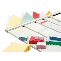 ACCO - acoo - 1900405 - bande planning en métal - 54 fentes pour indice 4