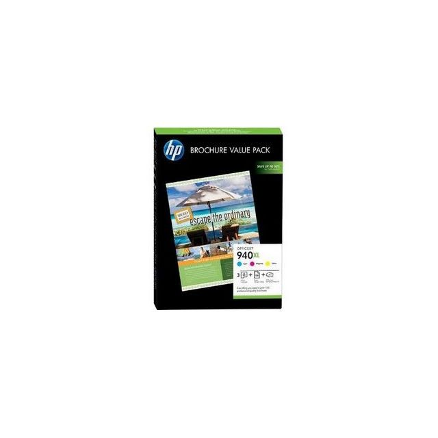 HP Multipack cartouches d'encre HP940XL Brochure Value Pack
