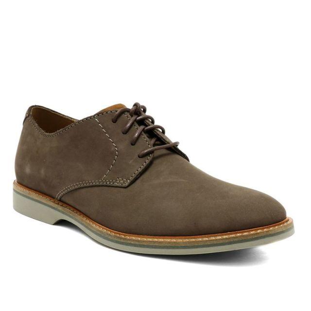 87c239a70072e2 Clarks - Aticus Lace Marron - 40 - pas cher Achat / Vente Chaussures ...