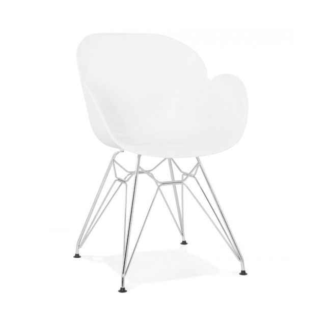 Kokoon Design Fauteuil design Chipie White 59x57,5x85 cm