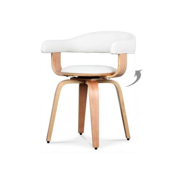 Declikdeco Fauteuil Blanc Design Sweden