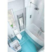 pare douche baignoire achat pare douche baignoire pas cher rue du commerce. Black Bedroom Furniture Sets. Home Design Ideas