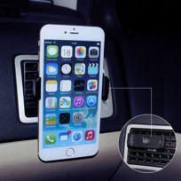 Tbs - 3163 Support téléphone pour voiture via fixation sur grille d'aération - kit main libre pour voiture - pour téléphone jusqu'à 5,7 pouce de diagonale ou 55 à 90mm de largeur 360 degré rotation - Universel Air Vent support té