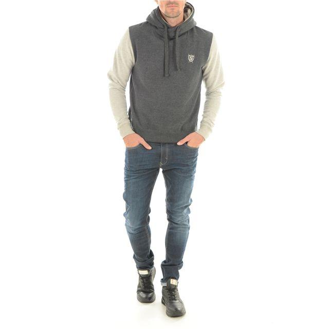 Biaggio Sweat Bicolore Scarla - Jeans