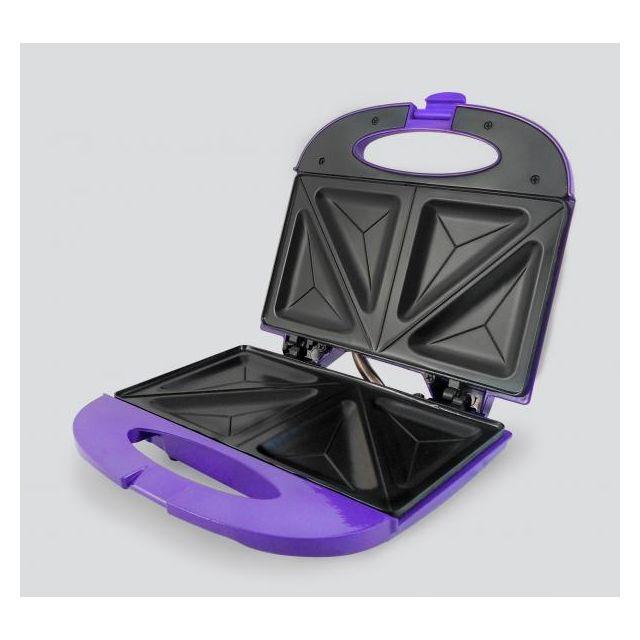 JOCCA appareil à croque-monsieur violet - 5064m