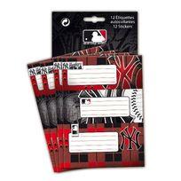 Mlb - 12 étiquettes autocollantes - New York Yankees