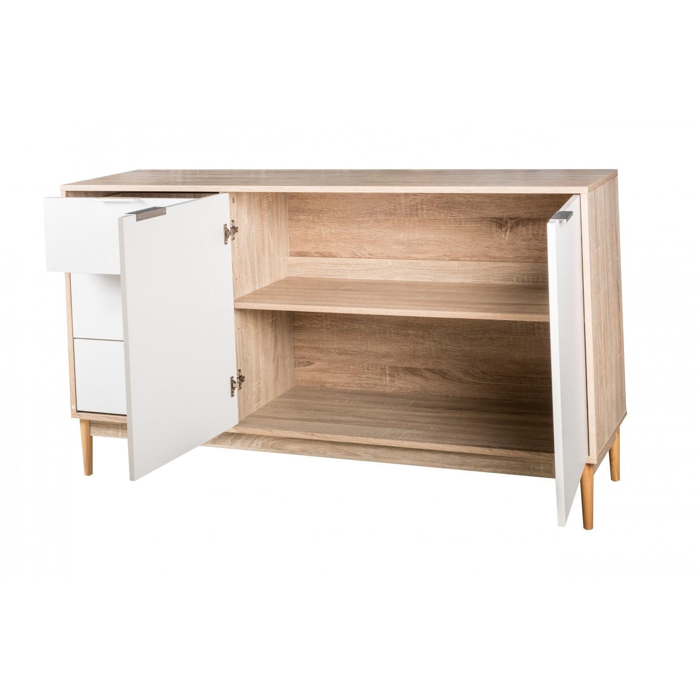 Buffet 2 portes 3 tiroirs gaby
